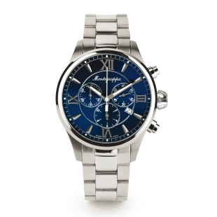 Fortuna Chronograph 42 mm Watch blue dial MONTEGRAPPA - 1