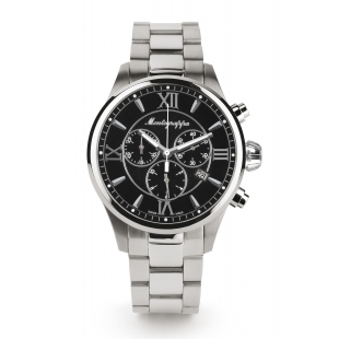 Fortuna Chronograph 42 mm Watch black dial MONTEGRAPPA - 1