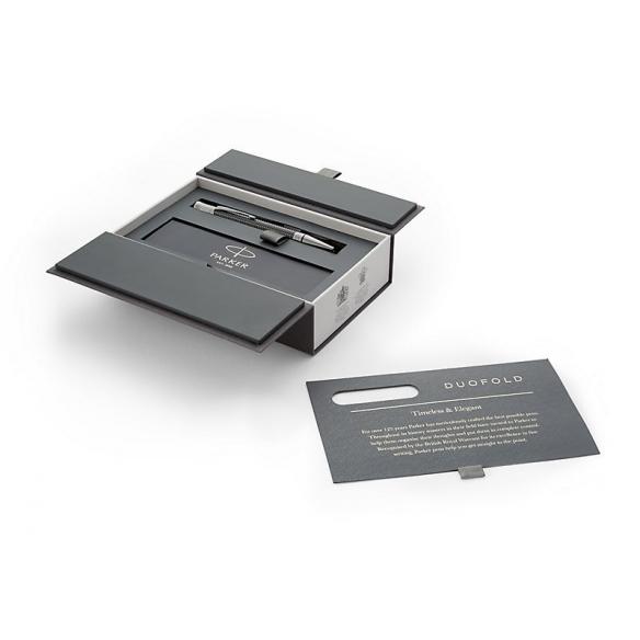 Duofold Prestige Black Chevron Ballpoint Pen PARKER - 2