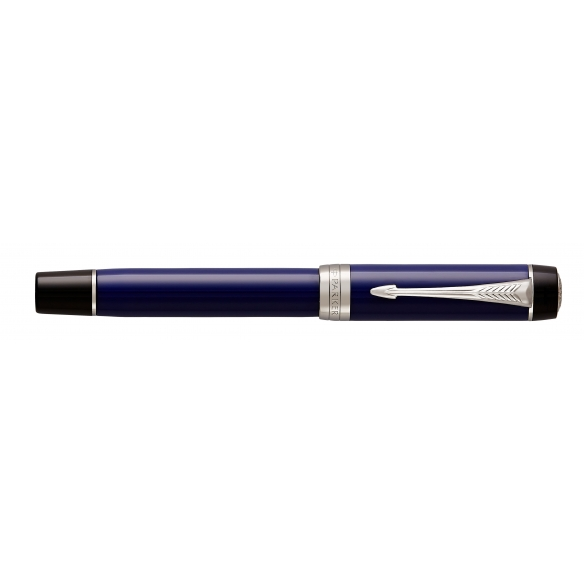 Duofold Classic Blue and Black CT Centennial Fountain Pen PARKER - 2
