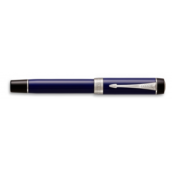 Duofold Classic Blue and Black CT Rollerball Pen PARKER - 2