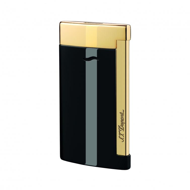 Slim 7 Black and Golden Lighter S.T. DUPONT - 1