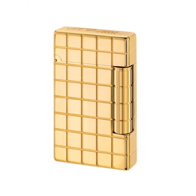 Initial Square Golden Lighter S.T. DUPONT - 1