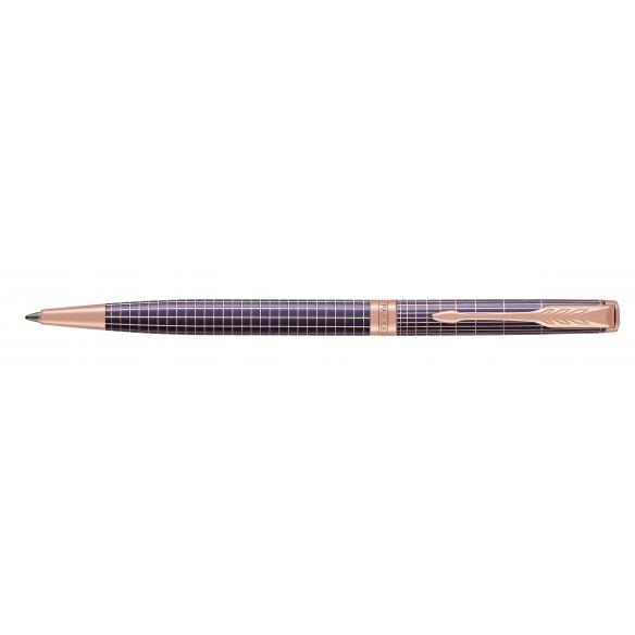 Sonnet Purple Chiselled PGT Slim guľôčkové pero PARKER - 1