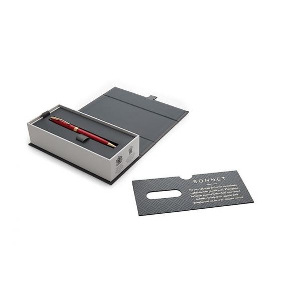 Sonnet Red GT Ballpoint Pen PARKER - 3