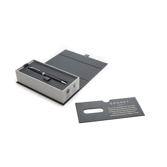 Sonnet Matte Black CT guľôčkové pero PARKER - 3