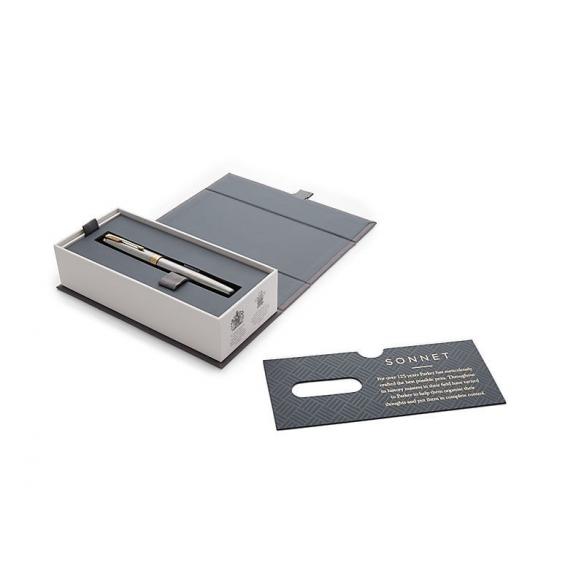 Sonnet Stainless Steel GT Fountain Pen PARKER - 5