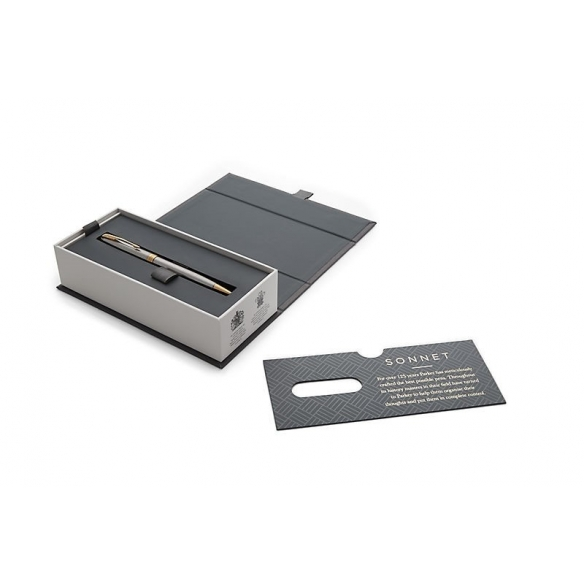 Sonnet Stainless Steel GT guľôčkové pero PARKER - 3
