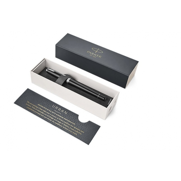 Urban Muted Black CT Fountain Pen PARKER - 5