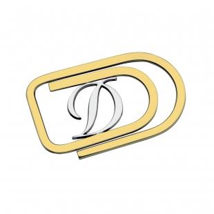 Spona na peníze z paladia a Žlutého Zlata S.T. DUPONT - 1