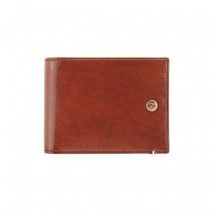 Line D Hnědo - Černá Peněženka na 8 kreditních karet S.T. DUPONT - 1