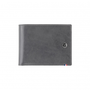 Line D Sivo - Modrá Peňaženka na 8 kreditných kariet S.T. DUPONT - 1