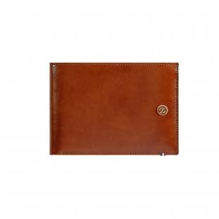 Line D Hnedá Peňaženka na 6 kreditných kariet S.T. DUPONT - 1
