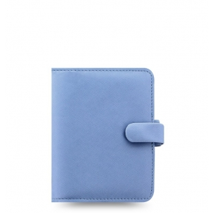Saffiano Organiser Pocket Blue