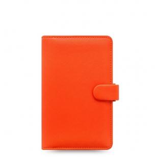 Saffiano Diár Compact oranžová FILOFAX - 1