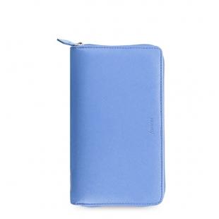 Saffiano Diář na zip Compact modrá FILOFAX - 1