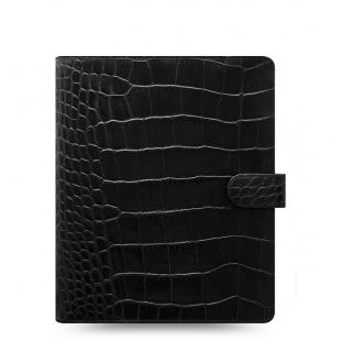 Classic Croc Organizer A5 black FILOFAX - 1