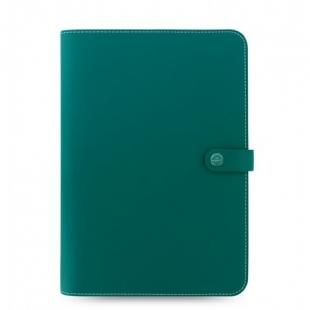 The Original portfolio A4 + Notebook zelená FILOFAX - 1