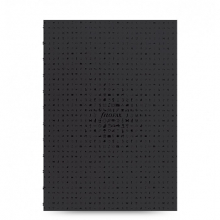 Icon Notebook A4 Refill black FILOFAX - 1