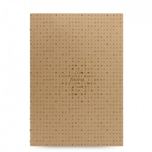 Icon Notebook A4 Refill light brown FILOFAX - 1