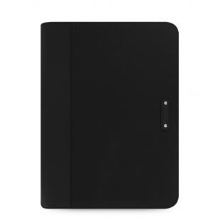 Microfiber Zipped Folio With Calculator Black FILOFAX - 1