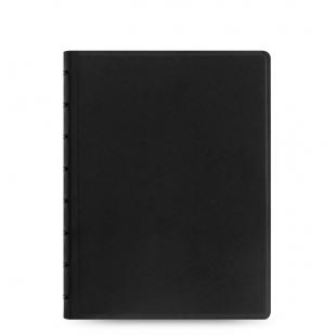 Filofax Notebook Saffiano A5 black FILOFAX - 1