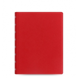 Filofax Notebook Saffiano A5 - červená FILOFAX - 1