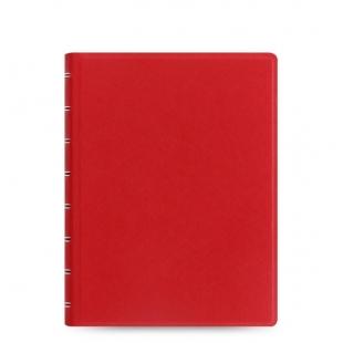 Filofax Notebook Saffiano A5 red FILOFAX - 1
