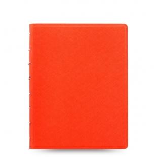 Filofax Notebook Saffiano A5 - oranžová FILOFAX - 1