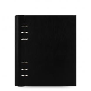 POZNÁMKOVÝ BLOK CLIPBOOK CLASSIC A5 - čierna FILOFAX - 1