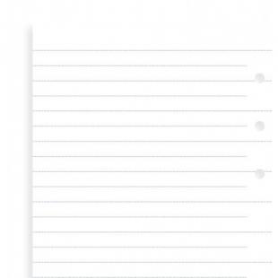 Linkované papiere, náhradná náplň Clipbook osobný FILOFAX - 1