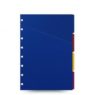 Filofax Notebook A5 Bright Coloured Indices FILOFAX - 1