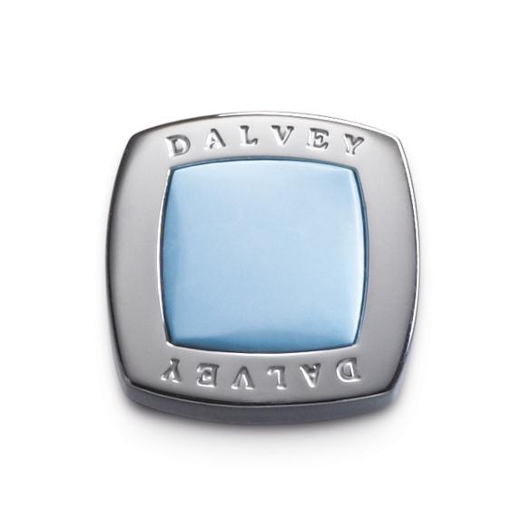 Quadrille cufflinks turquoise DALVEY - 2
