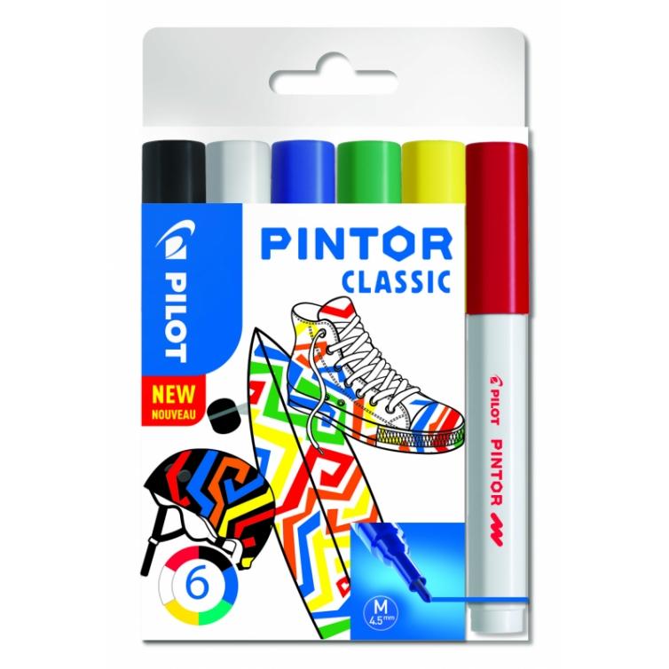 Pintor paint marker Classic set 6 pcs 4,5 mm PILOT - 1
