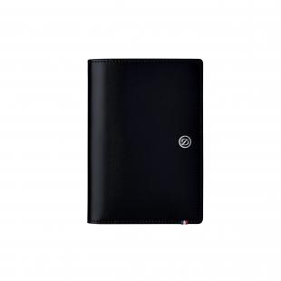 Line D leather wallet black S.T. DUPONT - 1