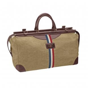 Iconic Bogie duffle bag biege, cognac S.T. DUPONT - 1