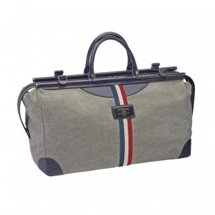 Iconic Bogie duffle bag blue, gray S.T. DUPONT - 1