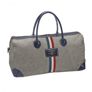 Iconic víkendová taška sivo-modrá S.T. DUPONT - 1