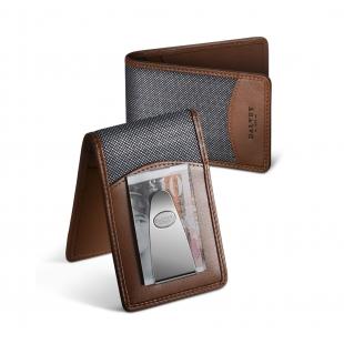 Insignia peňaženka hnedo-sivá