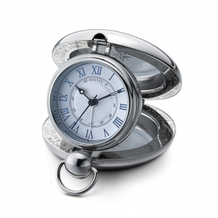Voyager travel clock white