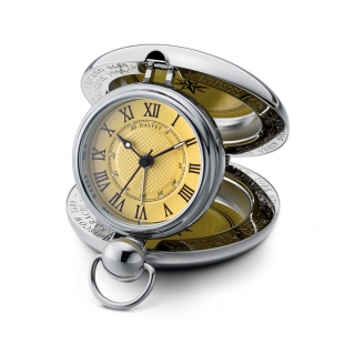 Voyager travel clock yellow