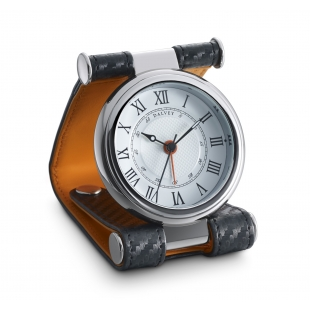 Cavesson travel clock black...