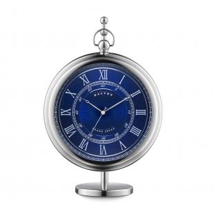 Grand sedan desk clock blue