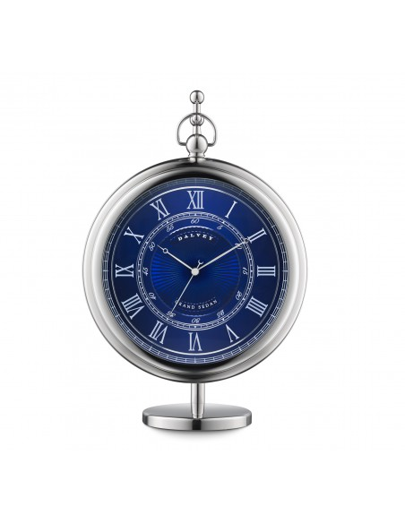 Grand sedan desk clock blue