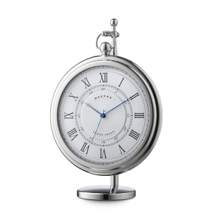 Grand sedan desk clock white