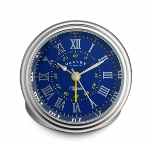 Clipper travel clock blue