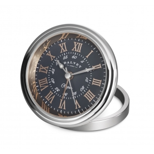 Clipper travel clock grey