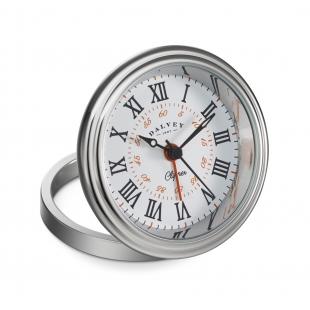 Clipper cestovné hodiny biele