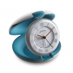 Capsule travel clock teal