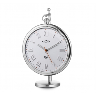 Sedan desk clock white